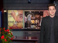 GRACIAS/THANKS   To Singer-Songwriter CHARLIE PUTH  in front of THE SAINT promo with DJ  LJDDJ at 3rd St mall SANTA MONICA, Ca