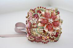Doloris Petunia One of a Kind Custom Cuff (Example). $1,000.00, via Etsy.
