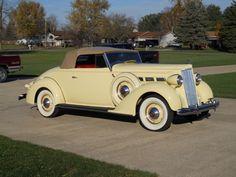 1937 Packard 120 Convertible