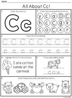 Alphabet Letters A-Z (Kindergarten Alphabet. by My Study Buddy Letter Worksheets For Preschool, Preschool Writing, Handwriting Worksheets, Preschool Letters, Preschool Learning Activities, Alphabet Worksheets, Learning Letters, Kindergarten Worksheets, Alphabet Letters