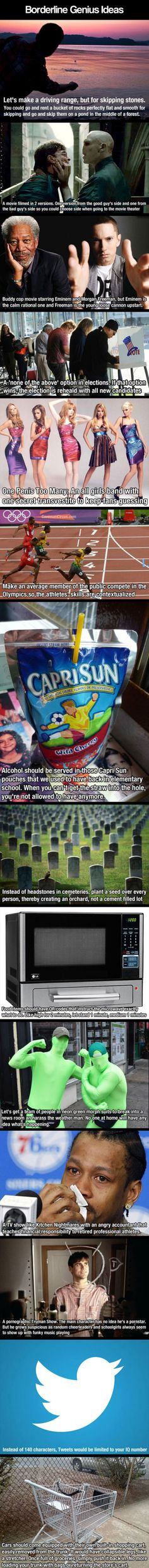 Some Good Ideas  // funny pictures - funny photos - funny images - funny pics - funny quotes - #lol #humor #funnypictures