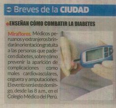 IP Noticias - Enseñan cómo combatir la diabetes