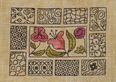 Les Marottes de Nathalie free cross stitch chart