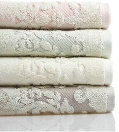 Replace Your Towels : Adding new towels to your bathroom like these Martha Stewart Collection Bath Towels ($9-$20) add texture and a serene appeal. Although these towels are muted, bath linens in all colors are an affordable way to switch up your current color palette.