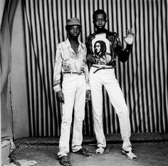 Malick Sidibé and Omar Victor Diop at the galerie du jour agnès b. - The Eye of Photography