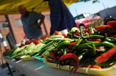 Peppers at the Greenwood Farmers' Market by Southern Foodways Alliance, via Flickr