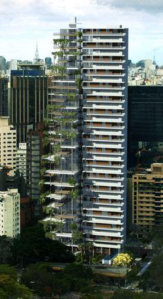 Edificio Itaim, proyectos vivienda colectiva. FGMF Arquitectos; Brasil, Sao Paulo.