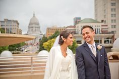 Early Fall Rain. It's no match for their love in Madison, Wisconsin  #wedding #weddingphotographer #weddingphotos #weddingideas #weddingportraits #elegant #beautiful #lovely #romance #love #bigday #madisonwi #wisconsin