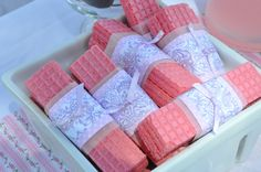 One of my favorite store bought cookies.  I love the idea of taking something easily available and then adding a personal touch like this thing pretty wrap. Elevates this everyday cookie to a tea party sweet.