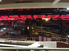 Harmony of the Seas' Royal Theater. View from the balcony.