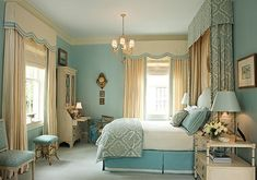 Blue Bedroom by keisha