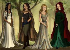 Lunar Chronicles Girls by Lierymell