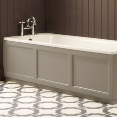 Browse the Roper Rhodes Hampton 1700mm Front Bath Panel online. Various colours are available. An ideal way to upgrade your bath. Now available.