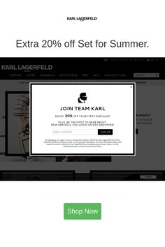 Best deals and coupons for Karl Lagerfeld Paris Discount Coupons, Discount Shopping, 20 Off, Karl Lagerfeld, Coupon Codes, October, Coding, Paris, Friends