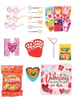 Ideas on what to give your child for Valentine's Day !