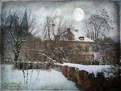 Groens Malmgård by Kerstin Frank art, via Flickr