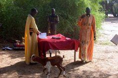 Divine Liturgy in Kenya (in the bush) - This is heart breakingly beautiful.