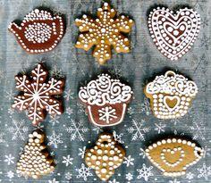 christmas cookies decorating ideas - Pesquisa Google