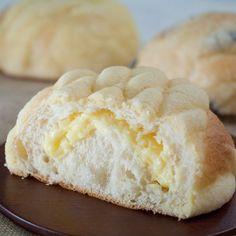カスタードのメロンパン