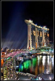 Singapore Marina Bay Sands Big Show