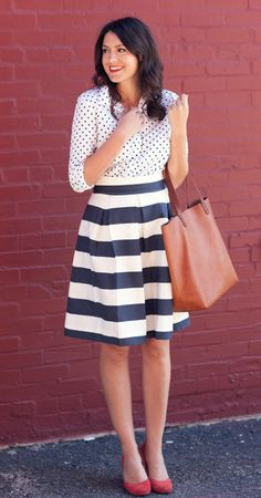 dots + stripes