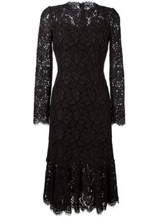 Shop Dolce & Gabbana fluted hem lace dress in Spinnaker Sanremo from the world's best independent boutiques at farfetch.com. Shop 400 boutiques at one address.