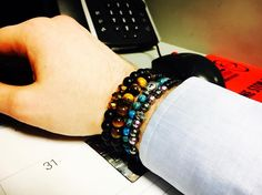 Back to work. Gotta love Mondays lol   www.newreignco.com http://ift.tt/2ljDkKI  #newreignco #sale #beadedbracelets #bracelets #yoga #yogabracelet #getyourstoday #armcandy #beads #style #fashion #mensfashion #womensfashion #stretchbracelets #accessories #womensaccessories #boston #jewelry #beadedjewelry #menwithstyle #handmade #madeintheusa #stackedbracelets #stacksonstacks #etsy