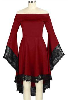 Chic Star Venom Gothic Lace Dress #chicstar #gothic #goth #gothicdress #gothdress #upperclassgoth #ucg