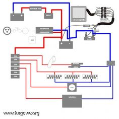 12v 240v camper wiring diagram vw camper pinterest diagram manual instalacin de batera auxiliar y consumibles para furgos camper cheapraybanclubmaster Choice Image