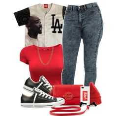 Untitled #419 by breoniaelkstone on Polyvore featuring Converse, Tory Burch, Lovebullets, NIKE and Married to the Mob