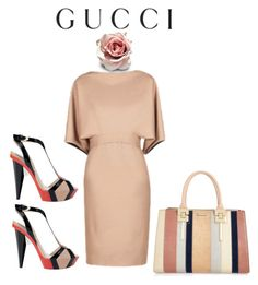 """A lady in her 40'S"" by ellenfischerbeauty ❤ liked on Polyvore featuring Gucci, River Island, Etro and gucci"