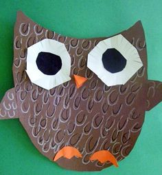 Owls for 3rd. It's quite possible I'll do an owl project with every grade this year. LOVE them!