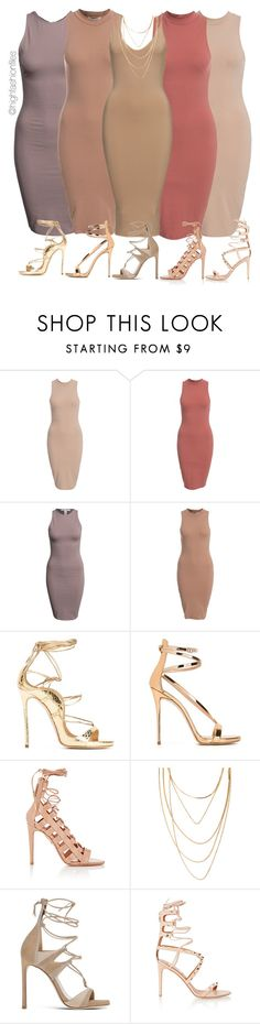 """Fall in Line"" by highfashionfiles ❤ liked on Polyvore featuring NLY Trend, Dsquared2, Giuseppe Zanotti, Aquazzura, Forever 21, Stuart Weitzman and Valentino"