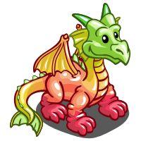Farmville Gummy Dragon