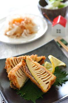 たけのこの豚肉巻きフライ by 小春 「写真がきれい」×「つくりやすい」×「美味しい」お料理と出会えるレシピサイト「Nadia | ナディア」プロの料理を無料で検索。実用的な節約簡単レシピからおもてなしレシピまで。有名レシピブロガーの料理動画も満載!お気に入りのレシピが保存できるSNS。