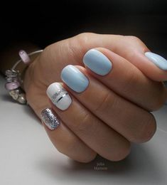The Best Nail Design For Weddings – Your Beautiful Nails Nail Tip Designs, Classy Nail Designs, Nail Design Video, Gel Nail Polish Colors, Gel Nail Art, Nail Colors, Dark Blue Nails, Red Nails, Hair And Nails