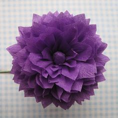 Q is for Quilter » Blog Archive » Crepe Paper Flowers Using Streamers and a Ruffler Foot – Tutorial