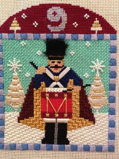 needlepoint 12 days of Christmas