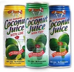 Amy & Brian coconut water. Got a craving for this in SF and can't find it in the UK... :(