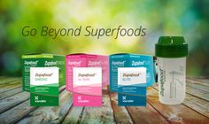 Go beyond superfoods with our top-of-the-line Zupafood Range! It contains unique bio-actives and extracts for skin, colon and overall health.