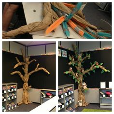 60 Ideas diy paper tree classroom pool noodles for 2019 Classroom Setting, Classroom Setup, Classroom Design, Preschool Classroom, Future Classroom, Class Decoration, School Decorations, Paper Tree Classroom, Reading Tree