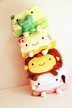 ❤ Blippo.com Kawaii Shop ❤ Kawaii Plush, Kawaii Cute, Felt Owls, Cute Stuffed Animals, Kawaii Things, Kawaii Stuff, Fabric Toys, Yarn Ball, Kawaii Shop