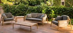 Pavers and Hamp Outdoor Collection DOMO Live beautifully Outdoor Furniture Sets, Outdoor Decor, Outdoor Living, Brick, Entertaining, Live, Collection, Home Decor, Outdoor Life