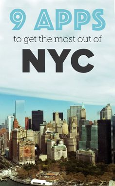 9 apps to get the most out of NYC