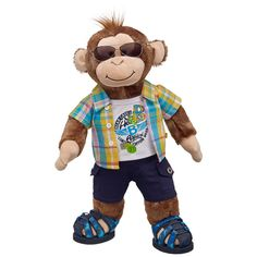 Coolness Cheerful Monkey | Build-A-Bear Workshop