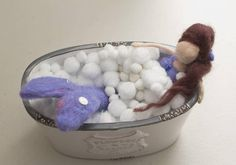 Check out this item in my Etsy shop https://www.etsy.com/uk/listing/608449507/needle-felted-mermaid-relax-and-unwind