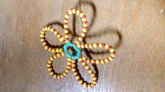 kytka z korálků / flower of beads