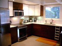 Best Kitchen On Pinterest Mid Century Modern Kitchen 1950S 400 x 300