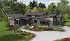 Mascord House Plan 1242A - The Caprica 2749 sf