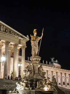 But, how you do find a great room at a great pr Neoclassical Architecture, Art And Architecture, Monuments, Athena Greek Goddess, Wachau Valley, Ancient Greek Sculpture, Heart Of Europe, European Tour, Viajes